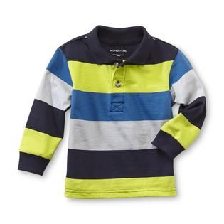 WonderKids Infant & Toddler Boy's Polo Shirt - Striped - Baby - Baby & Toddler Clothing - Tops