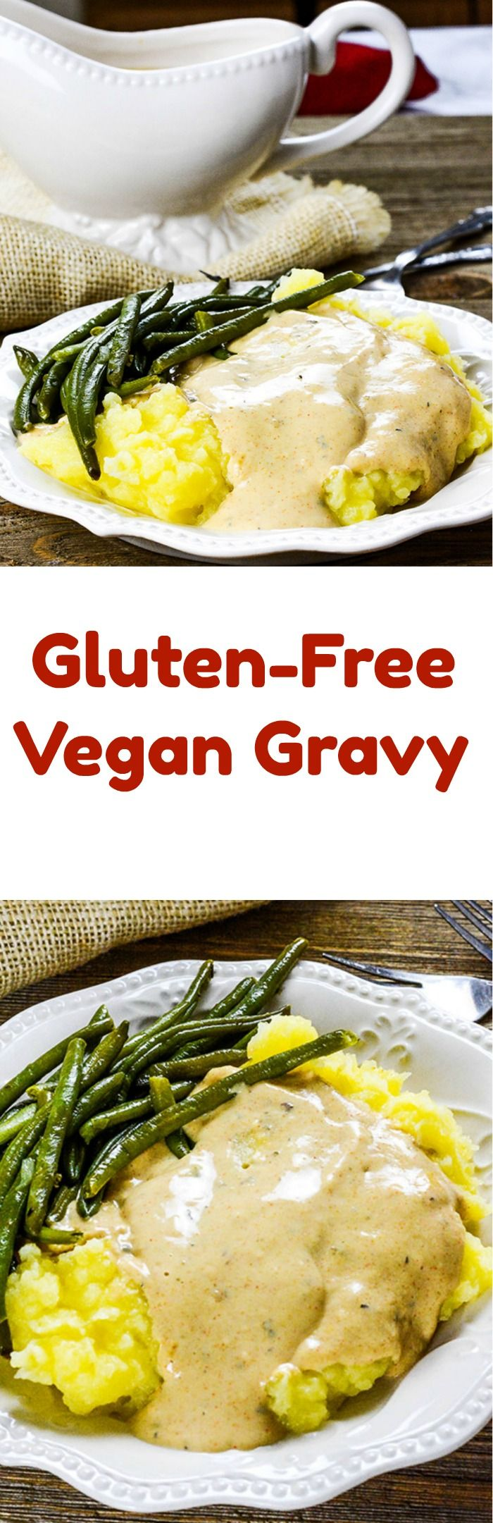 Gluten-Free, Vegan Gravy