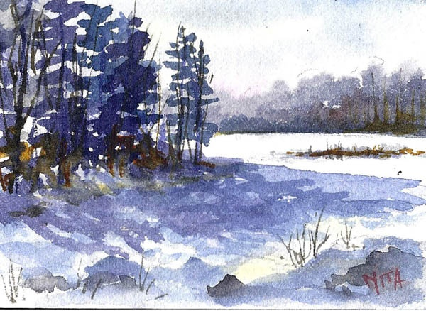 Nita Leger Casey: The Gingerbread Art Studio, Fine art Daily, Watercolor, Pastel, Oil