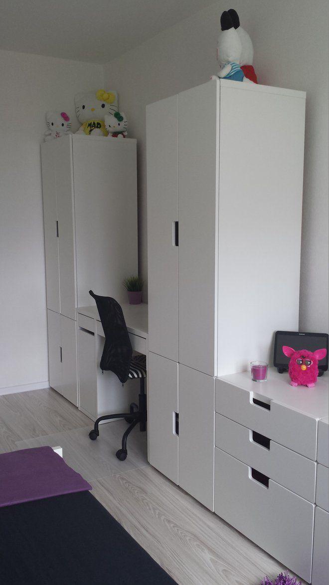 Tall Storage Units For Living Room Painting And Dining Same Color Ciekawe Urządzenie Pokoju Dziecięcego Z Meblami Stuva ...