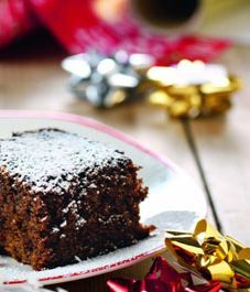 Recipe: Nigella's sticky gingerbread--this is seriously delish.  From Nigella Lawson's Christmas cookbook, my favorite holiday cookbook.