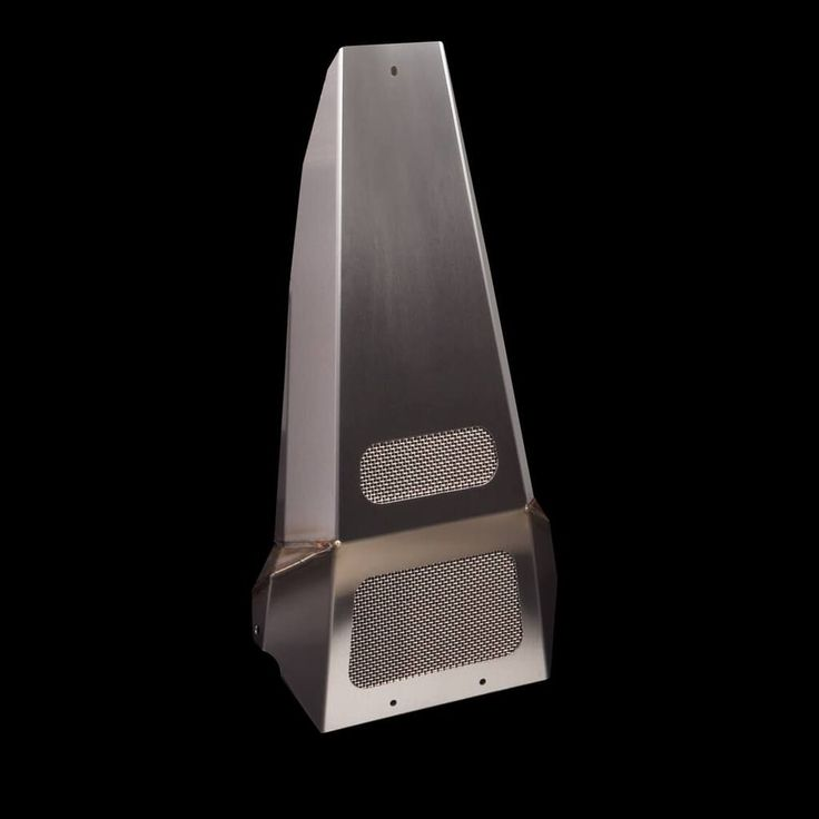 Sleek, racer look & cover your Harley Davidson frame in style. The Epic Chin Spoiler looks great & protects your bike from road debris. Brushed stainless