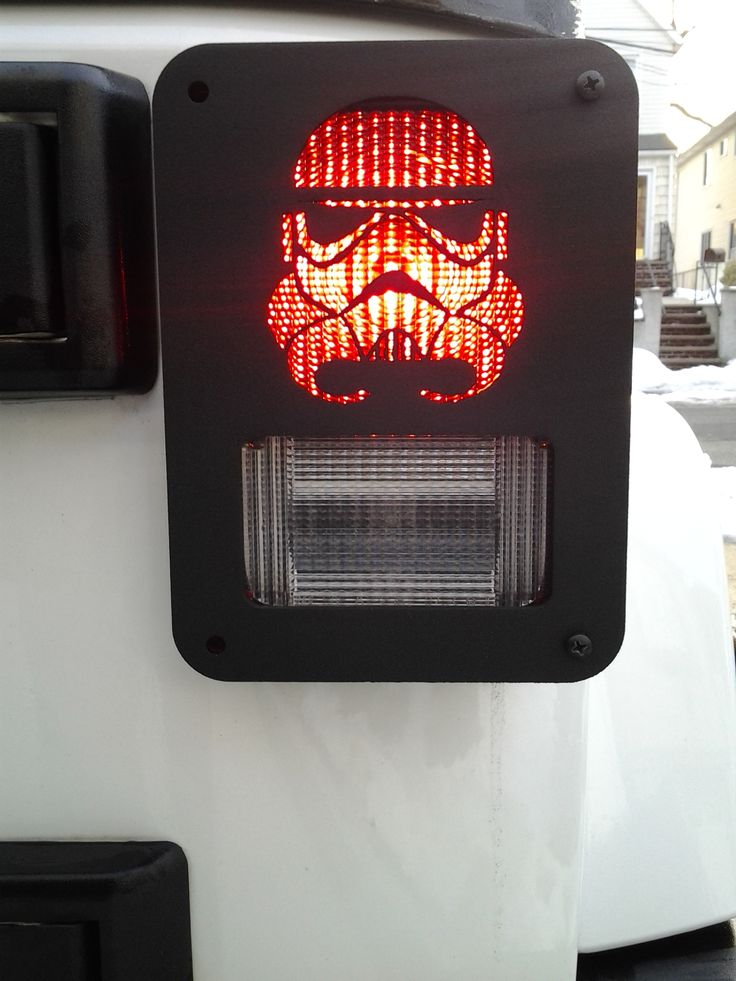 """TROOPER"" Custom Jeep Wrangler tail light guards by ..."