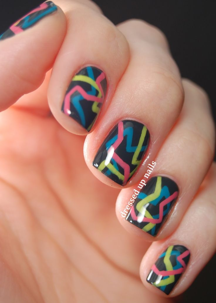 25+ Best Ideas About Cool Easy Nails On Pinterest