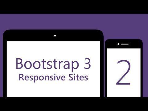 IMPORTANTE- BURGUER MENU- Bootstrap 3 Tutorials - #2 - Responsive Collapsing Navbar [1080p] - YouTube