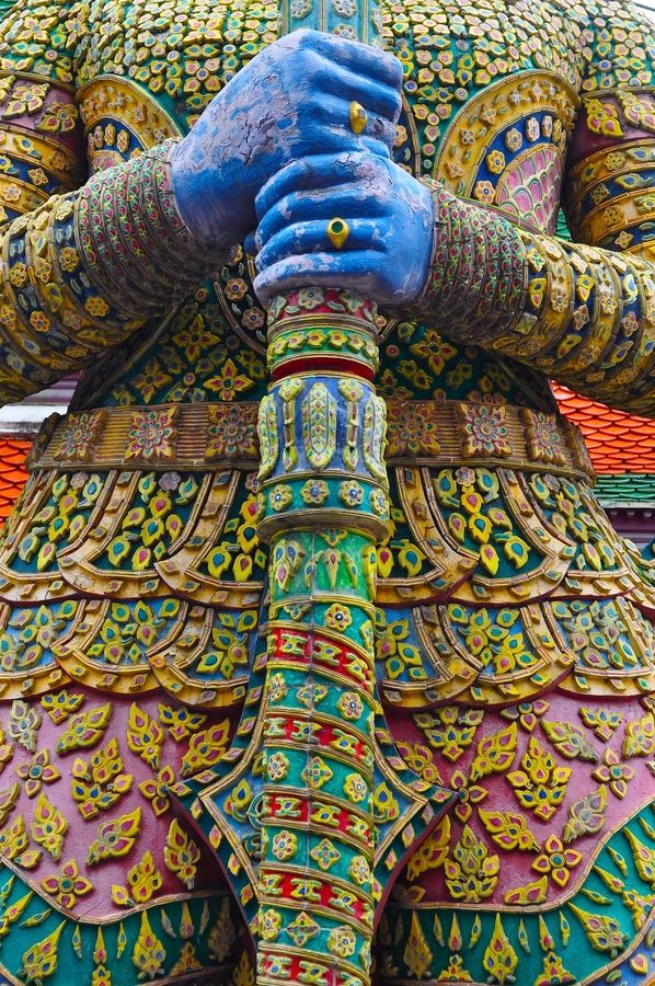 Grand Palace, Bangkok, Thailand. Places to travel before you die.