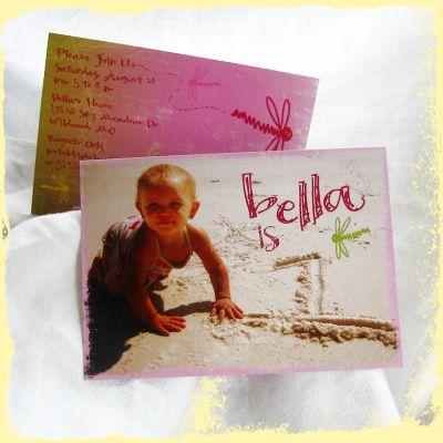 #rosita designs custom first birthday invitations and custom children birthday invitations dragonfly butterfly