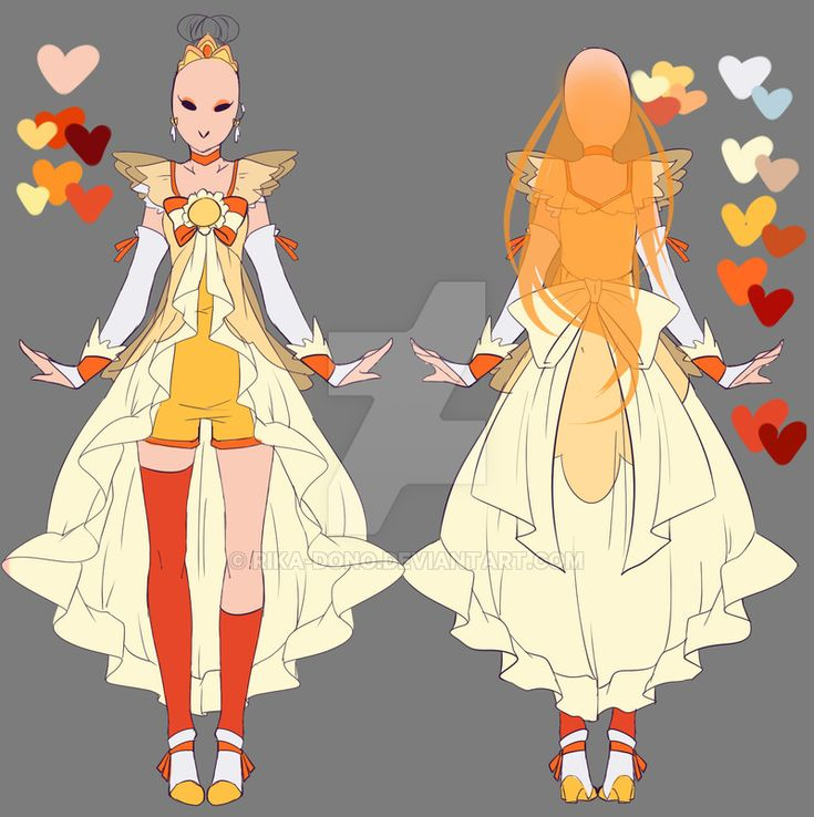 Character Design Dress Up : Best images about pretty cure on pinterest smile