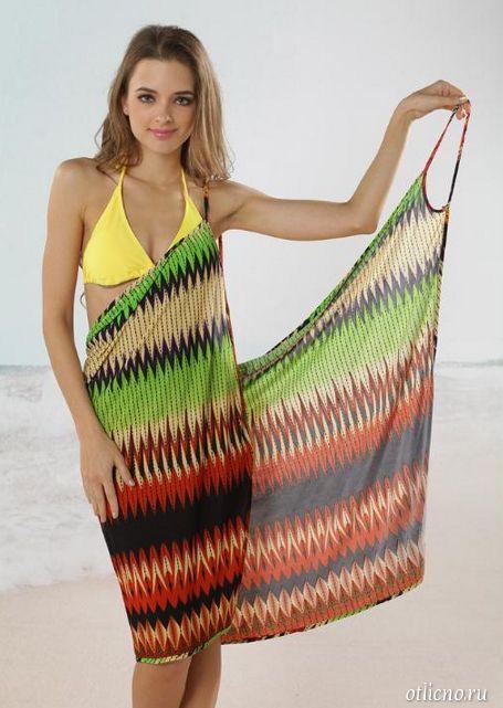 пляжная туника, женская одежда, одежда для пляжа, простые выкройки одежды
