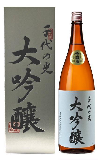 """Japanese """"sake"""" 日本酒★★★★★ 千代の光 大吟醸 千代の光酒造(新潟)http://www2.ocn.ne.jp/~sa-chiyo/"""
