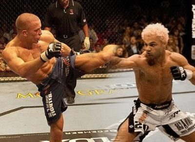Fans will understandably feel as though Dana White is recycling fights when they look at the marquee for UFC 124 this Saturday and see Georges St-Pierre and Josh Koscheck. Description from covers.com. I searched for this on bing.com/images
