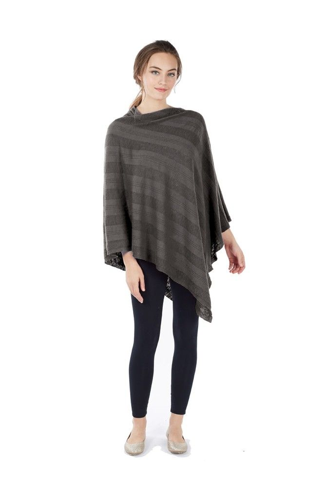 21b30443e535c Luxe Bamboo Maternity   Nursing Wrap Shawl (Charcoal) Please use coupon  code NewArrivals15 to receive 15% off these items. To receive the discount
