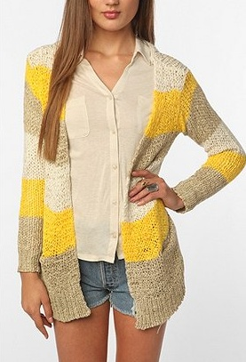 a great cardigan for spring and summer: Bdg Tape, Stripes Open, Urban Outfitters, Tape Stripes, Cardigans Urbanoutfitt, Open Cardigans, Outfits Ideas, Summer Night Outfits, 2014 Urbanoutfitt Com