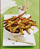 Oven Fries with Garlic and Parsley: Parsley Recipe