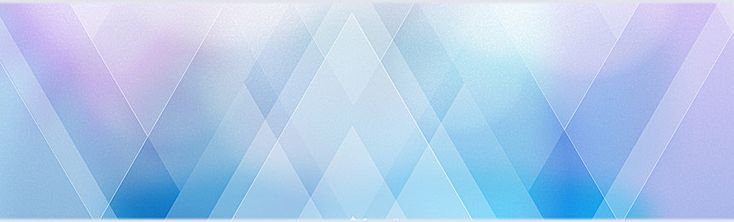 Simple atmospheric texture blue geometric background poster