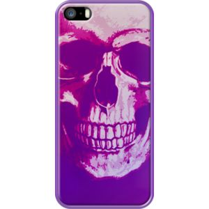 Purple Scull By Scar Design for                           Apple  iPhone 5/5s