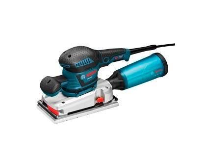 Lixadeira de meia-folha nova da Bosch: http://www.toolsofthetrade.net/sanding-and-grinding-tools/bosch-half-sheet-sander.aspx