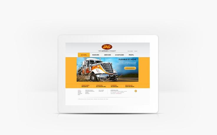 Les Services JAG | www.lesservicesjag.com | Site Web | Team Marketing • Web • Design