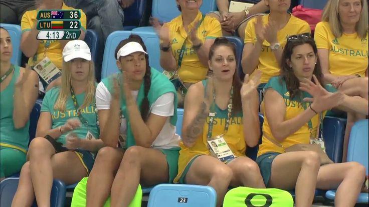 12.Gün   Avustralya - Litvanya   Erkekler Basketbol Çeyrek Final    Rio ...