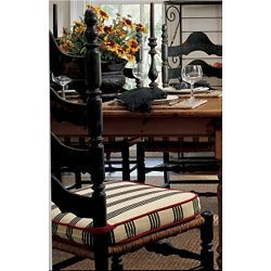 Need new chair pads for my kitchen dining set can 39 t find for Custom dining room chair cushions