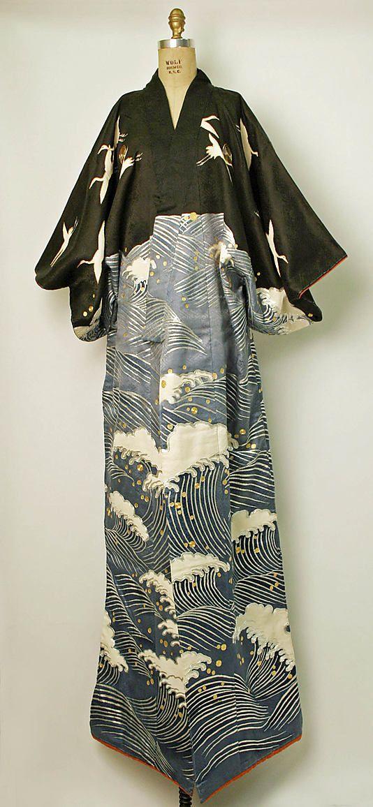 Japan, Dance kimono, second half 20th century.