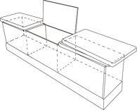 Byg en bænk med plads til affaldssortering og opbevaring   Indretning