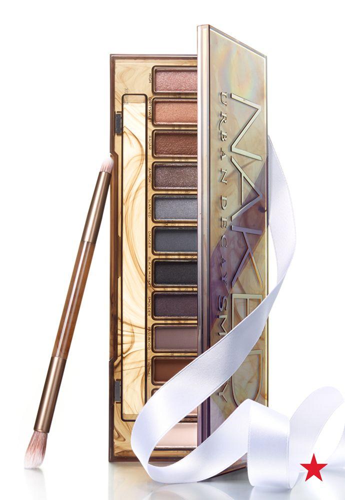 Urban Decay Naked Smoky Palette features a range of eyeshadow shades and an exclusive double-ended brush made especially for creating the perfect smoky eye. Adding to the top of wishlist… now!