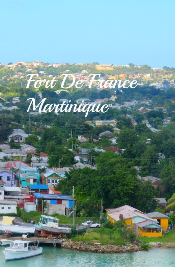 A view of Fort De France from our ship.