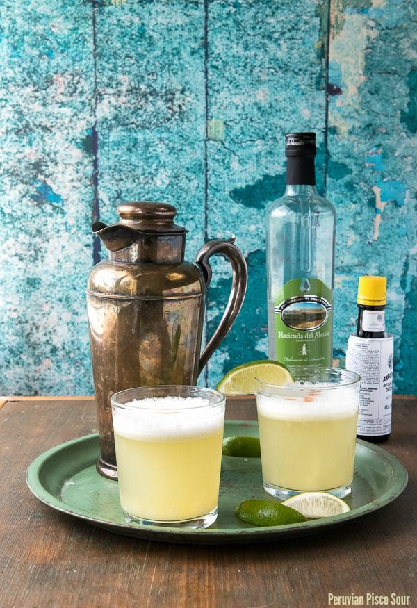 A tangy, refreshing recipe for Peruvian Pisco Sour cocktail and a review of Latin Twist, a vibrant cocktail recipe book.
