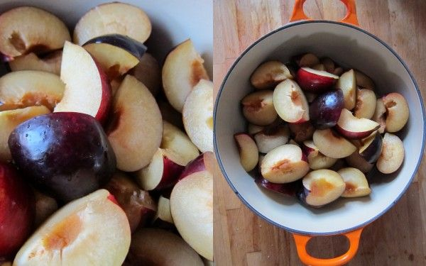Baby food recipe: Pureed plums