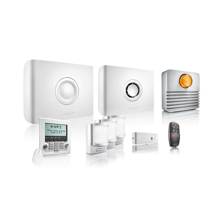 Kit alarme sans fil Protexiom Pack Exclusif GSM pas cher prix promo Alarme sans fil Castorama 999.00 €
