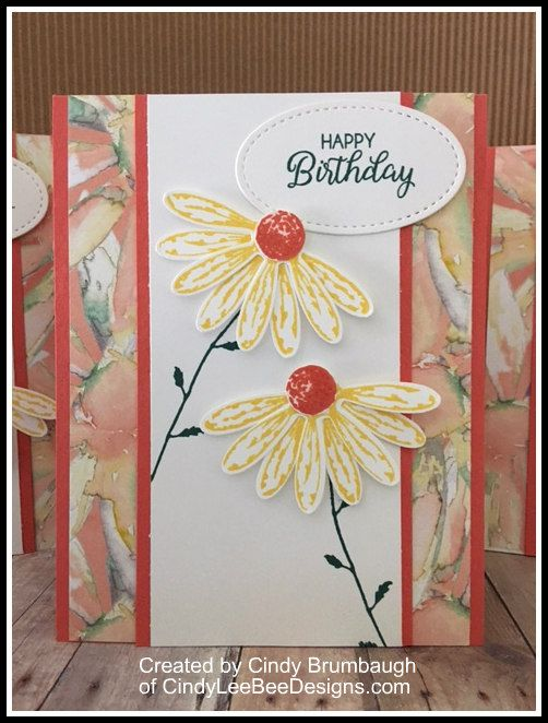 July 26, 2017 Today is my little girl's birthday! In just two short months she will be walking down the aisle… So in honor of her today…here is a birthday card made with the Dais…