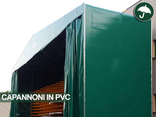 Nuovo #capannone #indipendente in #pvc in provincia di #modena