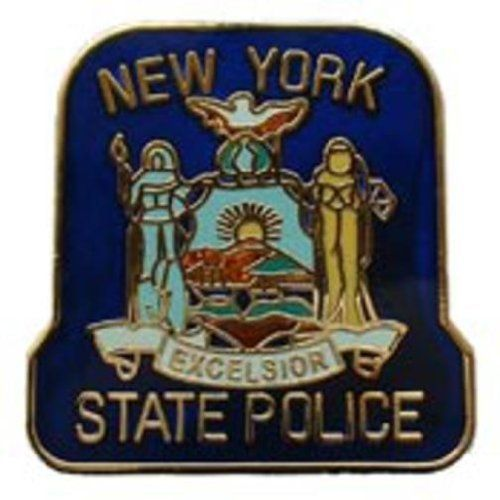 """New York State Police Pin 1"""" by FindingKing. $9.50. This is a new New York State Police Pin 1"""""""