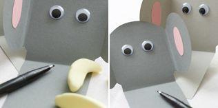 Send en elefanthilsen - http://www.dansukker.no/no/inspirasjon/barneselskap/jungelbursdag/aktiviteter-og-leker.aspx #barneselskap #lek