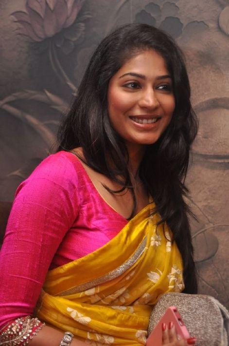 Vijaylakshmi in full sleeves saree blouse