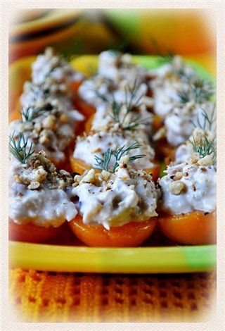 маффины с начинкой из тунца