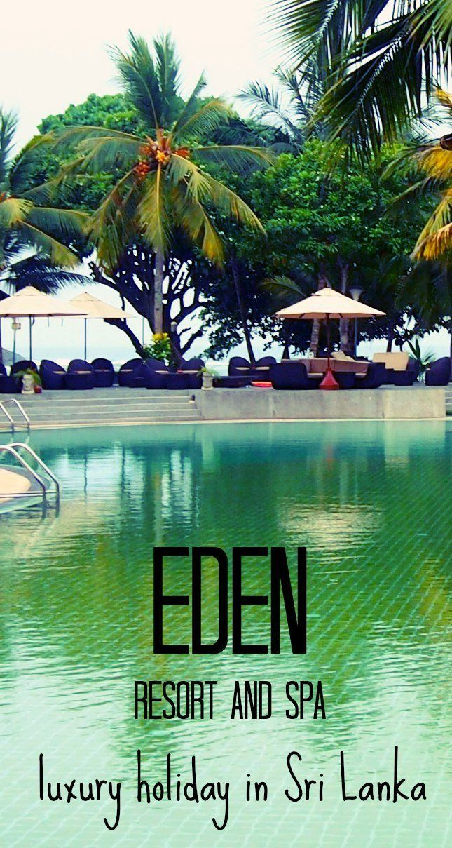A fabulous location for a family holiday or couples relaxation in glorious Sri Lanka. Sri Lanka is our favourite country to visit, we have endless posts on our website about travel in Sri Lanka. Here's something different, Eden Resort and Spa. Luxury Holiday in Sri Lanka