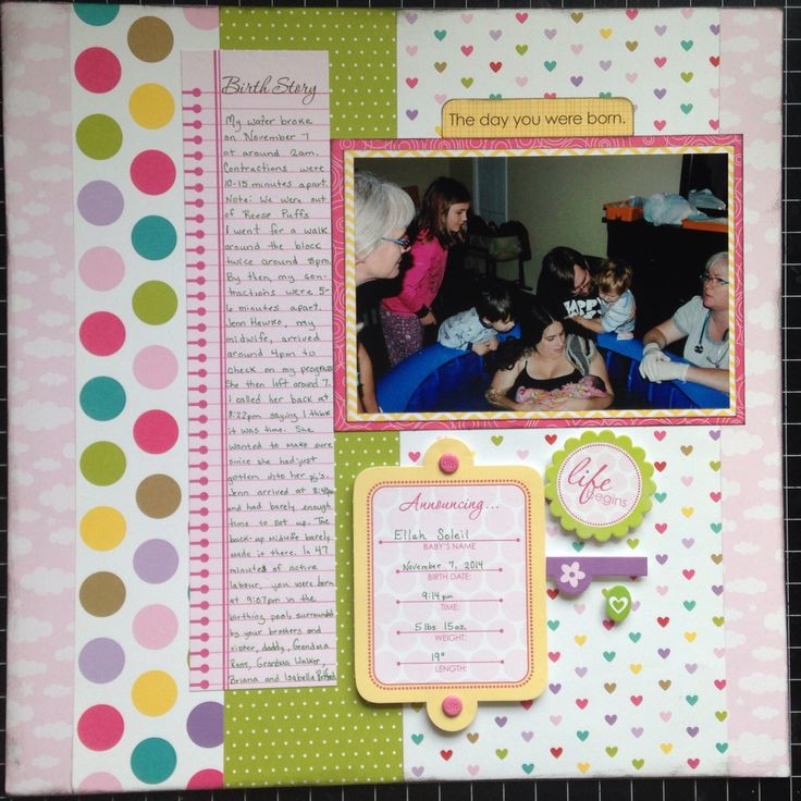 MWM - Tulip #3  Paper by: @bellablvd  - Baby Girl and Birthday Girl  @scrapbooksteals