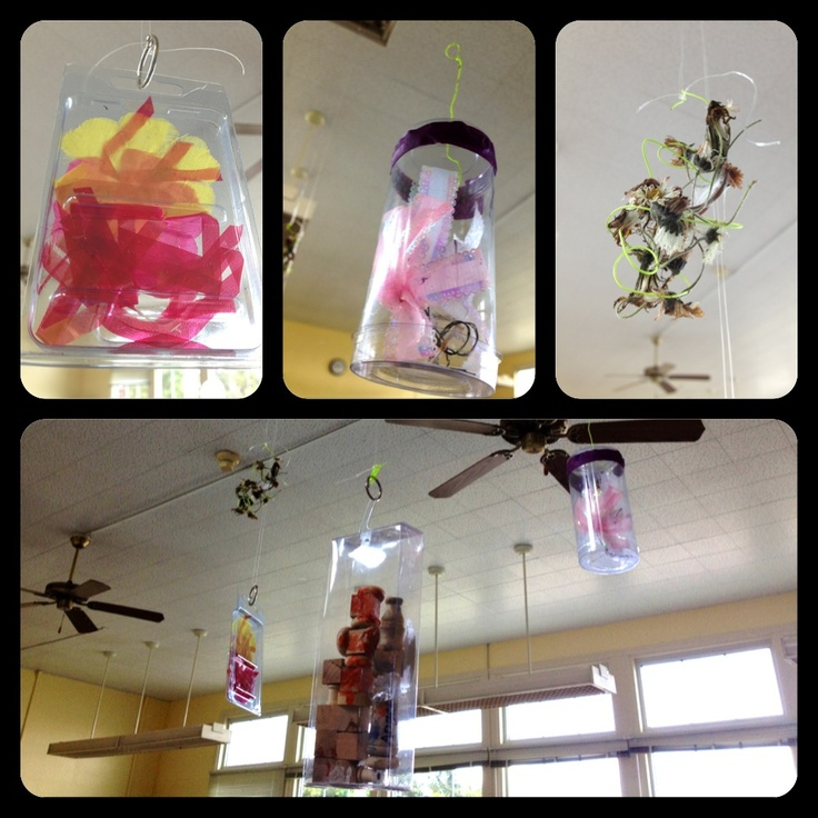 From my classroom: In the spirit of Remida and Reggio, repurpose packaging to display artwork or create new artistic sculptures. Here, my students used their imaginations to come up with some impressive creations.