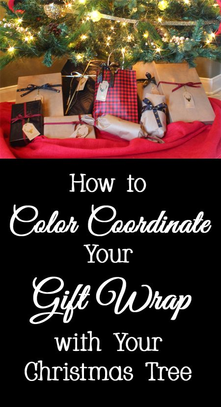 Designer Tips and Tricks for How to Color Coordinate Your Gift Wrap with Your Christmas Tree