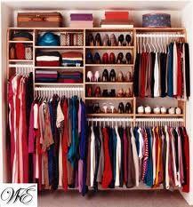 Love the different levels #closet #organization