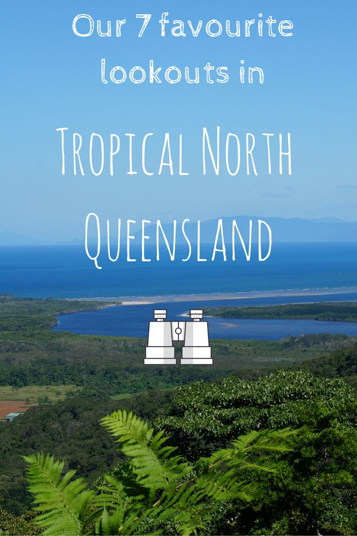 There are so many amazing place to see in tropical north queensland! Here are some of our favourite look out points for if you're doing a road trip.