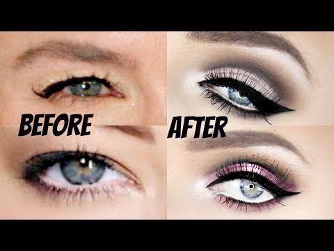The ULTIMATE Cut-Crease Tutorial for Hooded Eyes!! (VERY IN DEPTH!!) | Stephanie Lange - YouTube | Makeup Looks | Hooded eye makeup tutorial, Hooded eye ...