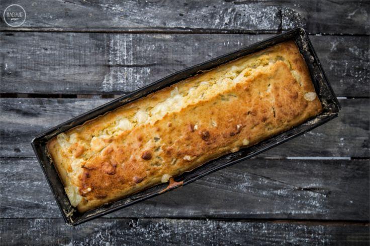 Αλμυρό Κέικ με Γραβιέρα #BreakfastWeek Αλμυρό Κέικ με Γραβιέρα
