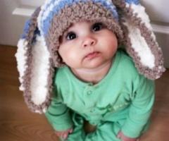 .: Cutest Baby, Cute Baby, Easter Bunnies, Baby Bunnies, Bunnies Hats, Ears, Baby Hats, Kids,  Poke Bonnets