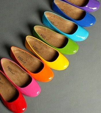 Colored Shoes.......