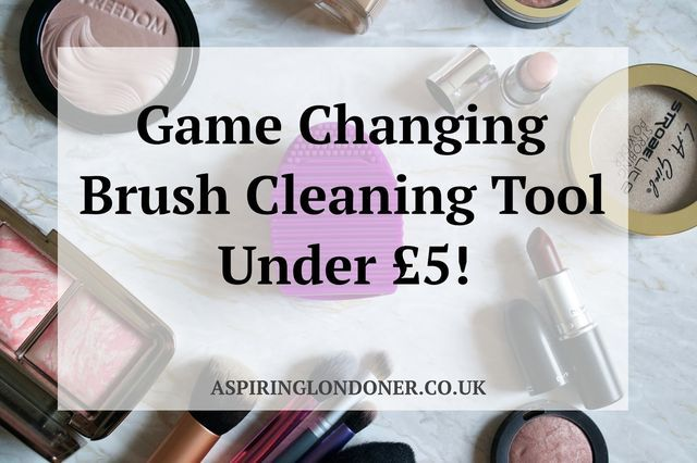 Weekend brush cleaning is the bane of my life, as I suspect it is for most women.  And I have never found anything that helped to give my poor hands a rest.  I tend to use whatever soap/cleanser I hav