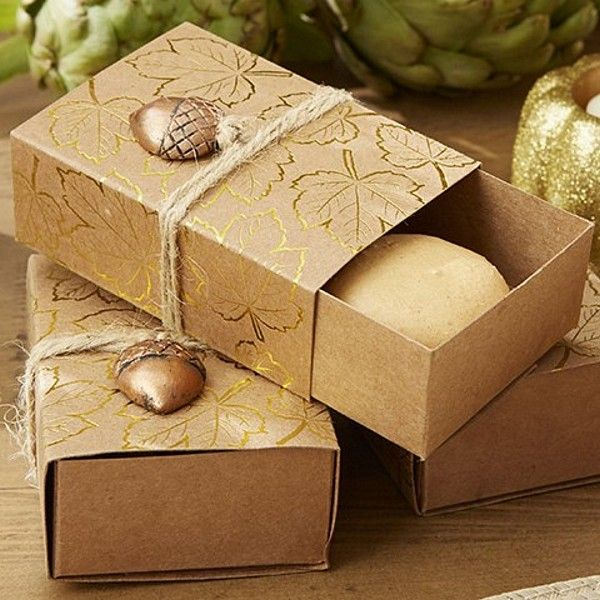 The Perfect Accent To Add Interest And Curiosity Your Fall Wedding Reception Table Decorations Favor BoxesWedding