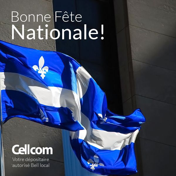 Bonne fête Saint-Jean Baptiste!  Vive le Québec, Vive le Canada. Cheers à nous tous!
